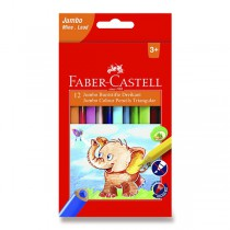 Pastelky Faber-Castell  Extra Jumbo 12 barev