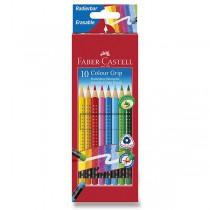 Pastelky Faber-Castell Grip 2001 s barevnou pryží 10 barev