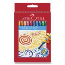 Voskovky Faber-Castell Twist 12 barev