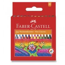 Voskovky Faber-Castell 24 barev