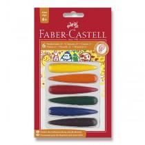 Pastelky Faber-Castell plastové 6 barev