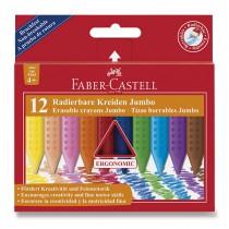 Pastelky Faber-Castell Plastic Colour Jumbo 12 barev
