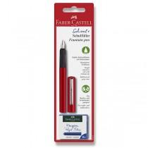 Bombičkové pero Faber-Castell červené
