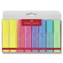Zvýrazňovač Faber-Castell Textliner 1546 8 kusů, pastelové