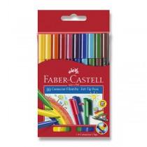 Dětské fixy Faber-Castell Connector 10 barev