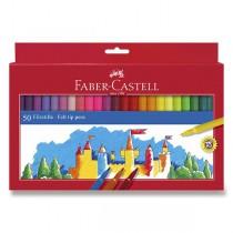 Dětské fixy Faber-Castell 50 barev