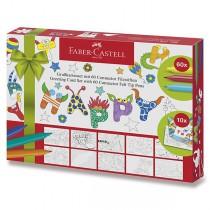 Dětské fixy Faber-Castell Connector 60 barev