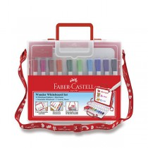 Popisovač Faber-Castell Slim Whiteboard Marker kufřík