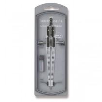 Kružítko Faber-Castell Grip 2001 stříbrné