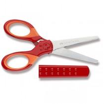 Školní nůžky Faber-Castell červené
