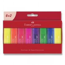 Zvýrazňovač Faber-Castell Textliner 46 8 kusů