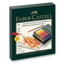 Pastelky Faber-Castell Polychromos studio box, 36 ks