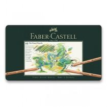 Umělecké pastely Faber-Castell Pitt Pastel plechová krabička, 60 ks