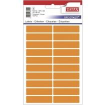 Etikety v sáčku neon 13 x 50 oranžové 100ks OFC-109