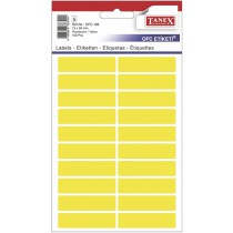 Etikety v sáčku neon 13 x 50 žluté 100ks OFC-109