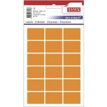 Etikety v sáčku neon 22 x 32 oranžové 90ks OCF-116