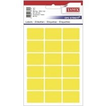 Etikety v sáčku neon 22 x 32 žluté 90ks OCF-116