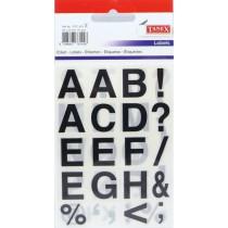 Etikety písmena STC-423 16x19 60ks tučná