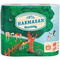 Toaletní papír Harmony Natural Classic - 2 vrstvy, 4ks