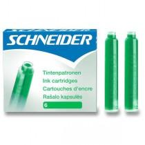 Inkoustové bombičky Schneider, 6 ks zelené