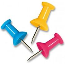 Upínáčky Maped barevné 25 ks, krabička