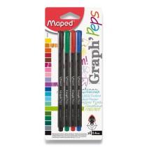 Liner Maped Graph´Peps sada 4 základních barev