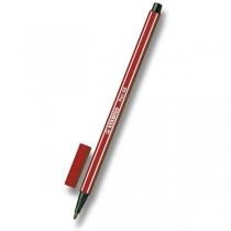 Fix Stabilo Pen 68 tmavě červený