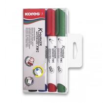 Popisovač Kores K-Marker Whiteboard sada 4 barev