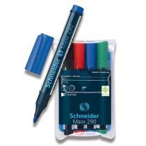 Popisovač Schneider Maxx 290 sada 4 barev
