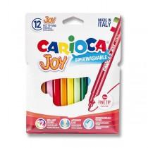 Dětské fixy Carioca Joy 12 barev