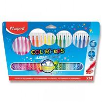 Dětské fixy Maped Color´Peps Long Life 24 barev