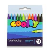 Voskovky Coolty 12 barev