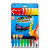 Olejové pastely Maped Color´Peps Oil Pastels 18 barev