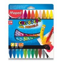 Olejové pastely Maped Color´Peps Oil Pastels 24 barev