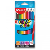 Pastelky Maped Color´Peps 12 barev