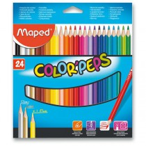 Pastelky Maped Color´Peps 24 barev