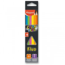 Pastelky Maped Color´Peps Fluo 6 barev