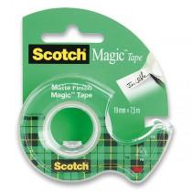 Samolepicí páska 3M Scotch Magic Invisible 19 mm x 7,5 m, s odvíječem