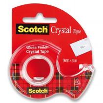 Samolepicí páska 3M Scotch Crystal 19 mm x 7,5 m