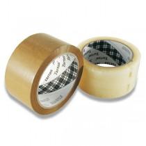 Samolepicí páska Tartan hnědá