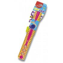 Pravítko Maped Kidy Grip 30 cm, mix barev