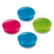 Kulaté magnety Maped - průměr 27 mm mix barev, 4 ks
