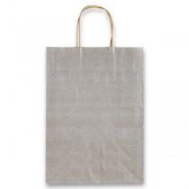 Dárková taška Allegra stříbrná, XS