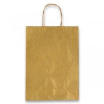 Dárková taška Allegra zlatá, S