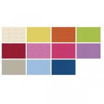 Dárkový balicí papír Kraft Light 2 x 0,7 m, mix barev