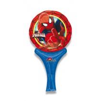 Nafukovací balónek s rukojetí - Spider-Man
