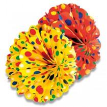 Papírová koule Honey průměr 28 cm, mix barev