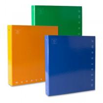 4kroužkový pořadač Pigna Monocromo A4, 35 mm, mix barev