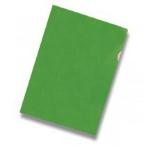 Zakládací obal L - A4, 10 ks zelený