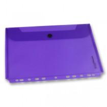 Zakládací obálka FolderMate PopGear fialová, A4